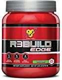 BSN R3Build Edge Post Workout Recovery Powder With Creatine, Glutamine and BCAAs, Green Apple, 25 Servings