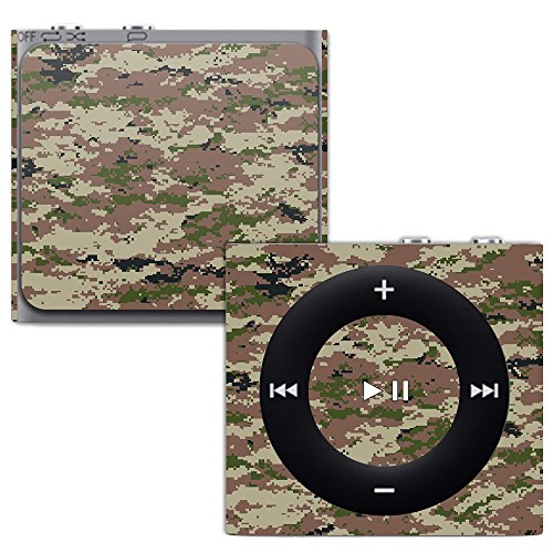 MightySkins Skin for Apple iPod Shuffle 4G - Urban Camo | Protective, Durable, and Unique Vinyl Decal wrap Cover | Easy to Apply, Remove, and Change Styles | Made in The USA (Protective Shuffle Case Silicone)