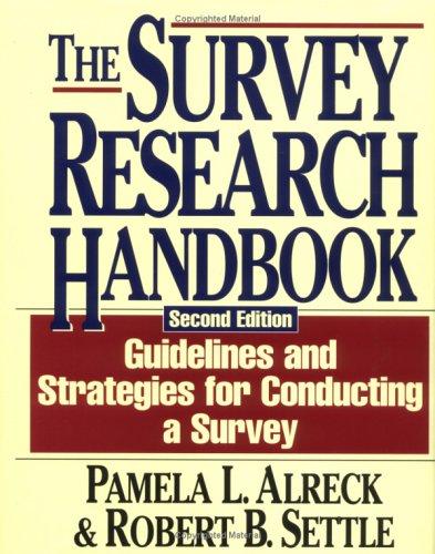 The Survey Research Handbook