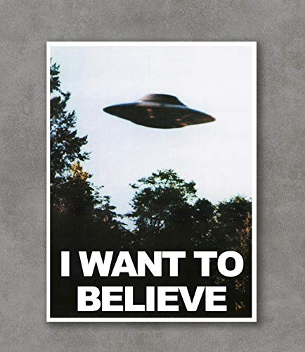 Believe Poster Print - Kai'Sa I Want to Believe Poster Art Print Posters,18''×24'' Unframed Poster Print