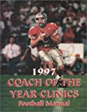 1997 Coach of the Year Clinics Football Manual, Earl Browning, 1585182389