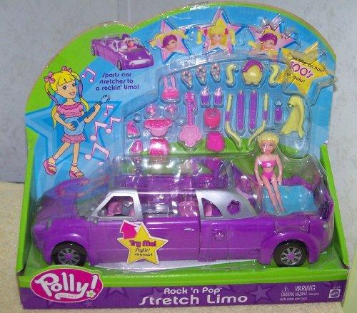 (Polly Pocket *Rock 'n Pop Stretch Limo Purple )