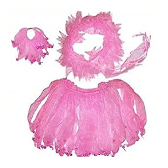 Pink Fairy Dress Up Set with Bells (3pc)