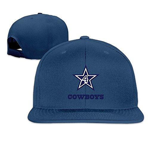 Karoda CBoys DAK4 Flat Brim Baseball Caps Hip Hop Hat Navy