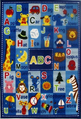 Fun Rugs FT-95 3958 Fun Time Letters & Names