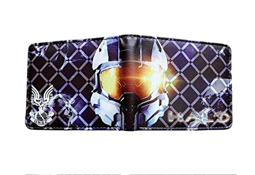 J&C Halo Master Chief UNSC Bi-fold Men's Boys Wallet for sale  Delivered anywhere in USA