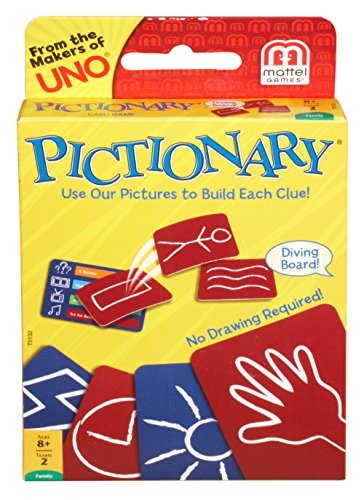 Mattel Games Pictionary Card (Halloween Game Ideas For 11 Year Olds)