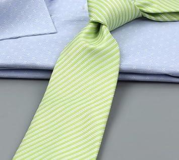 XZLP99 El Green Tie Serie Trajes De Vestir Para Hombres Corbata De ...