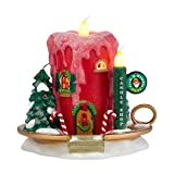 Department 56 North Pole Village Jack B. Nimble Candle Ornament Lit House, 5.31 inch