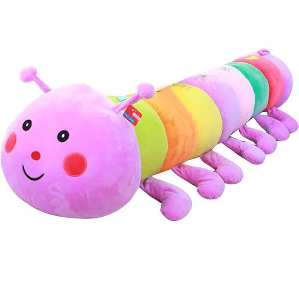 venta de ofertas 110cm GJF Regalo Colorido del día de de de los niños de la Almohada de la Oruga del Juguete Grande de la muñeca de la Oruga (púrpura) (Tamaño   110cm)  Ahorre 60% de descuento y envío rápido a todo el mundo.