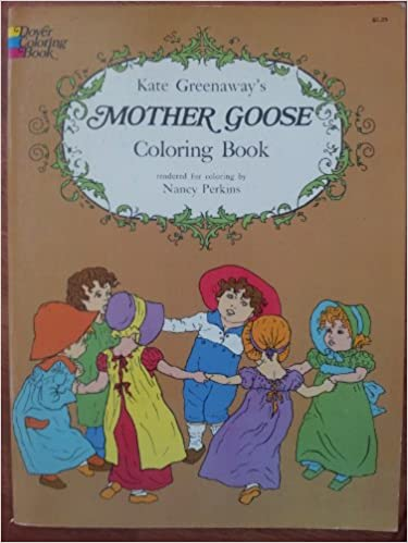 Mother Goose-Coloring Book: Kate Greenaway: 9780613976084 ...