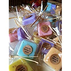 Wedding Favors: 15 Mini Soap Favors for Wedding Favors, Bridal Shower Favors, or Baby Shower Favors
