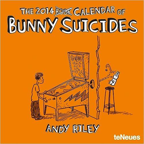 2014 Bunny Suicides Mini Wall Calendar