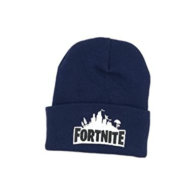 Amazon.com  Zehr Fort Nite Battle Royal Winter Hat Navy  Clothing 7713fa1c0d4