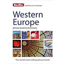Berlitz Language: West European Phrase Book & Dictionary: French, German, Italian, Spanish, Dutch, Portuguese, Greek, Turkish