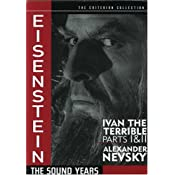 Eisenstein: The Sound Years (Ivan the Terrible Parts 1 & 2 / Alexander Nevsky) (The Criterion Collection)
