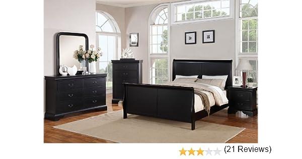 Poundex Louis Phillipe Bedroom ...