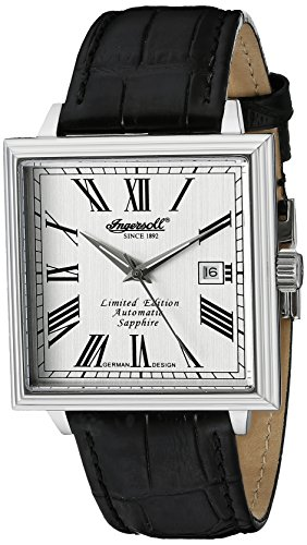 Ingersoll Men's IN1005SL Desalines Analog Display Automatic Self Wind Black Watch