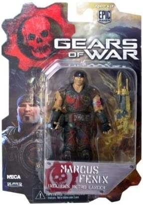 NECA 52238 - Gears of War 3, Serie 1: Marcus Bloody Variant ...