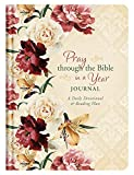 img - for Pray through the Bible in a Year Journal: A Daily Devotional and Reading Plan book / textbook / text book