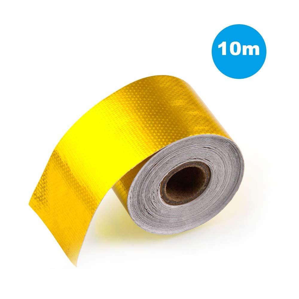 Exhaust Pipe Aluminum Foil Tape High Temperature Wrap Reflective Heat Shield