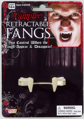 [Retractable Vampire Fangs] (Retractable Vampire Fangs)