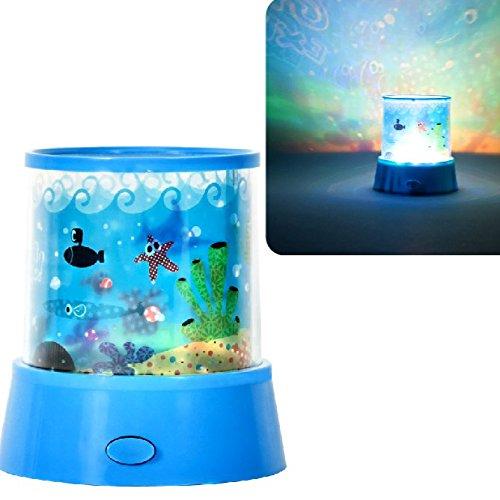 Promobo-Lámpara de noche con proyector, diseño de animales, color ...