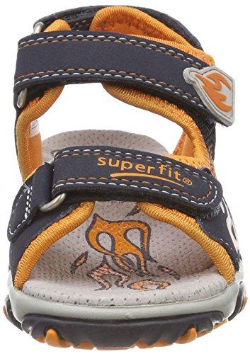 Superfit Mike 2, Sandalias Para Niños Blau (Ocean Kombi)