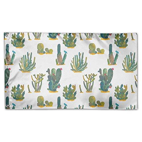 Colby Keats Green Cactus Desert Garden Lawn Flags Indoor Out