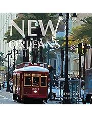 New Orleans Calendar 2021: 16 Month Calendar