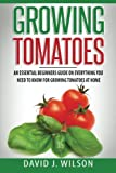 growing tomatoes - Growing Tomatoes: An Essential Beginners Guide on Everything You Need to Know for Growing Tomatoes at Home