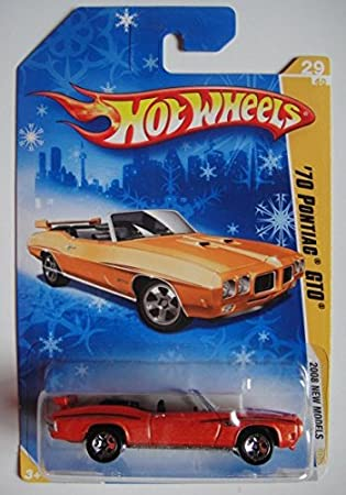 HOT WHEELS 2008 NEW MODELS  /'70 PONTIAC GTO  #29//40 RED