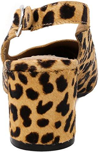 Haircalf L Slingback Women's Steve High Ankle Madden Leopard Dizzy qxUanHS