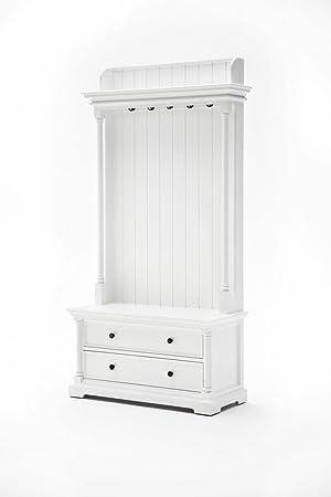 NovaSolo Provence rústico Muebles Elegante Perchero Blanco ...