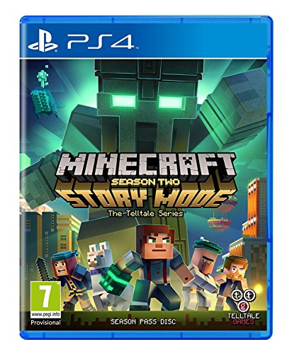 Minecraft Story Mode - Season 2 Pass Disc (PS4) UK IMPORT REGION FREE