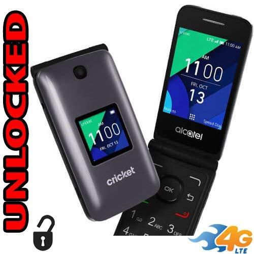 Alcatel Cingular Flip 2 4G LTE FlipPhone Bluetooth WIFI MP3 Camera Good for  Elderly - GSM Unlocked