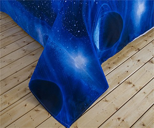 Galaxy Bedding Set Oil print out Duvet Comforter Sets