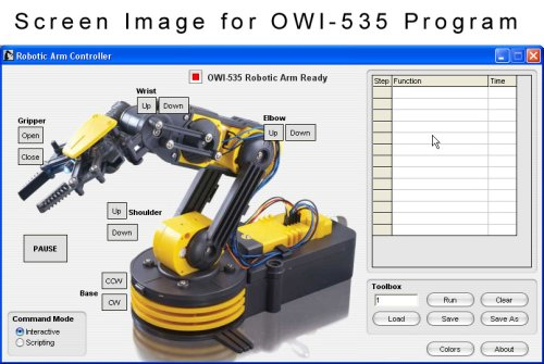USB Controller for OWI-535 Robotic Arm