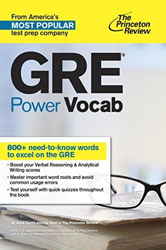 The Princeton Review GRE Power Vocab (1st 2015) [Curtis & Princeton Review]