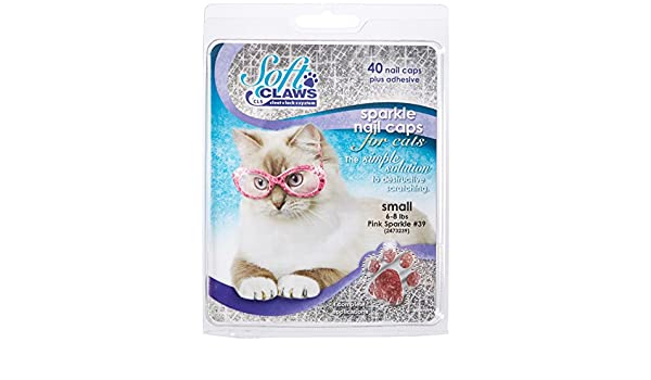 Soft Claws Inc Suave Garras para Gatos, tamaño pequeño, Color Rosa Brillante: Amazon.es: Productos para mascotas