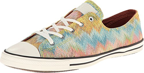 Converse Women#039s Chuck Taylor All Star Missoni Fancy Ox Citrus/Multicolored 65