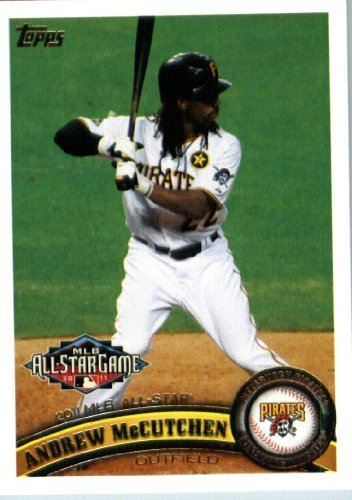 2011 Topps Update Series Baseball Card #US291 Andrew McCutchen - Pittsburgh Pirates (All -Star) MLB Trading (Pirates Trading Card Game)
