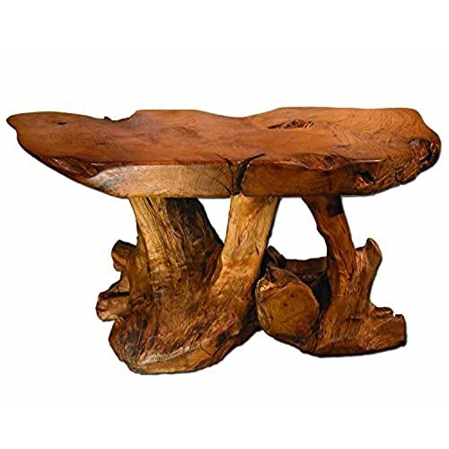 Superbe Natural Wood Coffee Table