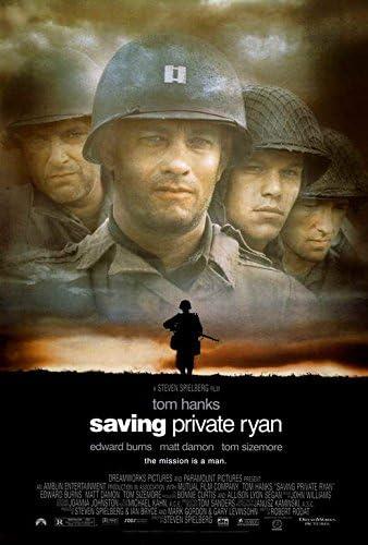 Amazon Com Saving Private Ryan Poster Movie 27 X 40 Inches 69cm X 102cm 1998 Posters Prints