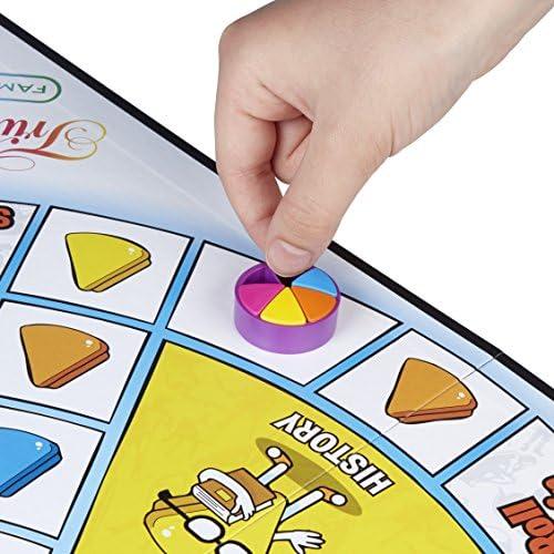 Hasbro Gaming E1921100 Trivial Pursuit Édition Famille Jeu de Table