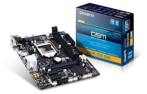 Gigabyte Sata Controller (Gigabyte Micro ATX DDR3 1333 LGA 1150 Motherboards GA-H81M-S2H GSM)