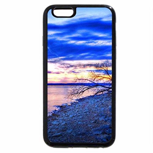 iPhone 6S / iPhone 6 Case (Black) Kansas Evening Shoreline
