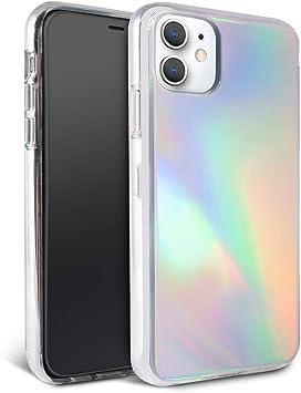 Felony Case - Coque pour iPhone 12 Mini – élégante coque holographique Aura pour iPhone – Compatible avec chargement sans fil – Anti-rayures, 360 ° ...
