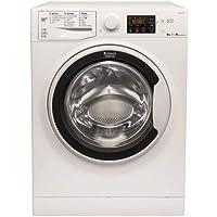Hotpoint RDSG 86407 W FR Autonome Charge avant A Blanc - Machines à laver avec sèche linge (Charge avant, Autonome, Blanc, Gauche, boutons, Rotatif, Polypropylène)