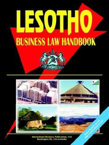Lesotho Business Law Handbook
